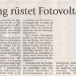 Artikel des MM v. 7.6.2011